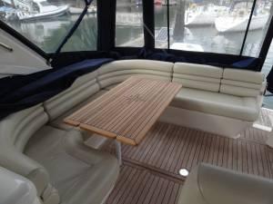 Princess V40 interior boatmatch.com