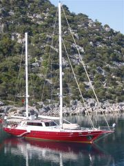 Custom 30m deck saloon RINA/TURK LLOYD Sail Boat For Sale