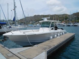 Boston Whaler Outrage 370 Power Boat For Sale