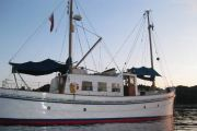 Classic Motor Vessel (MV) ' Kytra ' Power Boat For Sale