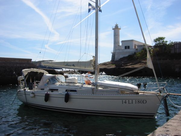 Hanse 341 Sail Boat For Sale ...