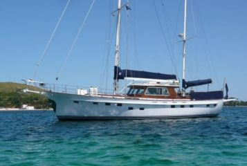 Porsius Custom build steel ketch Sail Boat For Sale